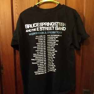 Shirts - BRUCE SPRINGSTEEN CONCERT T-SHIRT 👕 Tour Tee Rock